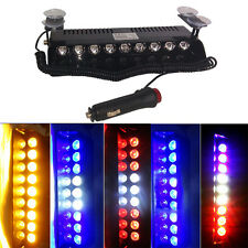 9 LEDs Emergency Warning Traffic Advisor Vehicle Strobe LED Light Bar Yellow