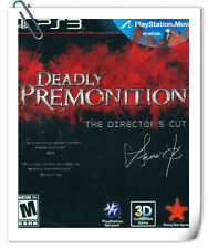 PS3 Move Deadly Premonition The Director's Cut Games Action Adventur Rising Star