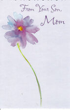 "Greeting Card - Mother's Day - ""FROM YOUR SON, MOM"" - by Tender Thoughts!"