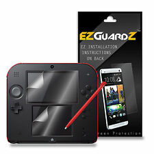 6X EZguardz Screen Protector Shield 6X For Nintendo 2DS (Ultra Clear)