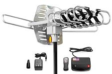 ViewTV Outdoor Amplified Antenna 150 Miles Range 360 Degrees Rotation