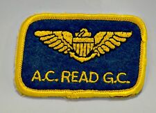 A.C. Read Golf Course Pensacola FL  Embroidered Souvenir Patch