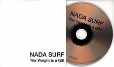 NADA SURF The Weight Is A Gift 2005 UK 11-track promo CD