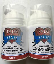 Fade The Itch Tattoo Aftercare Serum 50ml x 2