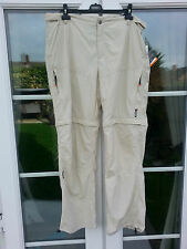 Icepeak Max Lightweight Hiking Walking Travelling ZipOff Trousers Shorts W40 L34