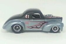 2012 Hot Wheels Boulevard '41 Willys Real Riders NEW loose