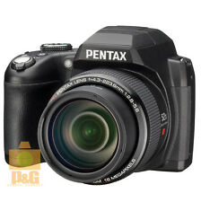 NEW BOXED PENTAX XG-1 XG1  DIGITAL CAMERA BLACK 52X OPTICAL ZOOM