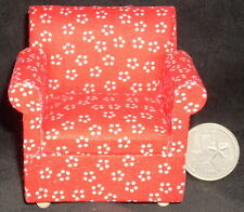 Family Living Room Red Chair 1:12 CLA10553 Couch Sofa & Love Seat elsewhere
