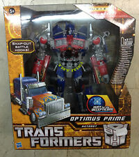 Transformers Optimus Prime Autobot Snap-out Battle Hooks Hasbro New Unopened