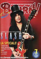 Burrn! Heavy Metal Magazine July 2010 Japan Slash Ratt L.A. Guns Anvil Gamma Ray