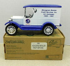 MONOGRAM RETAILER CREDIT GE CAPITAL 1923 CHEV 1995 DIECAST ERTL BANK #F389