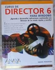 CURSO DE DIRECTOR 6 PARA WINDOWS - ANDRE PERSIDSKY - ANAYA 1998 - VER INDICE