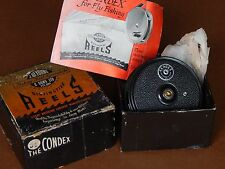"Collectible Vintage Fly Reel-The Condex(3 1/4"") JW Young England-Excellent+boxed"