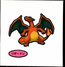 POKEMON STICKER Carte JAPANESE 50X50 TISSU N° CHARIZARD DRACAUFEU (3)