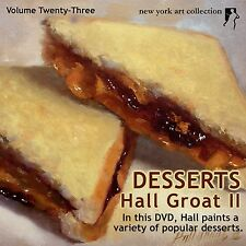 Learn to Paint Desserts DVD - Video  By  Hall Groat II