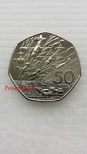 1994*UNC*50TH ANNIVERSARY OF THE D-DAY LANDING LARGE 50P COIN