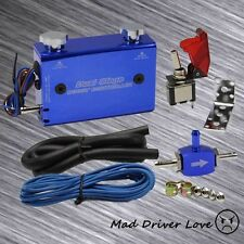 TURBO DUAL STAGE SWITCH MANUEL ADJUST BOOST CONTROLLER BLUE FOR HONDA CIVIC EG