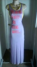 Womens Sexy Bathing Suit Swimsuit Cover Up Victoria's Secret XS Long HIGH Slits