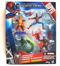 HASBRO THE AMAZING SPIDER-MAN ACTION FIGURE SET HOBGOBLIN CARNAGE SCORPION MIB