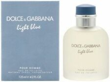 Light Blue  by Dolce & Gabbana Pour Homme EDT 4.2 OZ NEW IN SEALED BOX