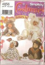 PATTERN SIMPLICITY 9821 Kids Baby monkey Mouse Bunny Rabbit Dog 1/2 to 4
