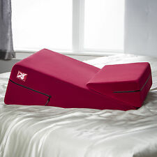 Liberator Wedge Ramp Combo Sexual Positioning Pillows - Red Microfiber
