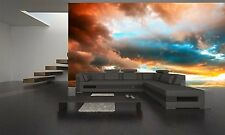 DRAMATIC SUNSET Wall Mural Photo Wallpaper GIANT DECOR Paper Poster Free Paste