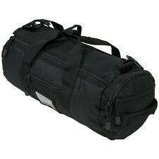 NEW - Black MOLLE Tactical Shoulder Bag - Mini Holdall - Sturdy Nylon Grab Bag