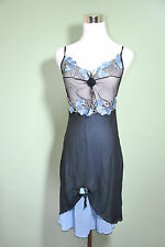 New Womens Sexy Fetish Erotic Baby Doll Dress Thong Set Lingerie Private sz S