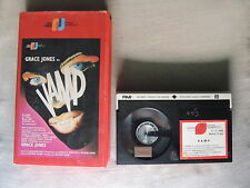 VAMP GRACE JONES 1986 BETA VIDEO CASSETTE VERSION ESPAÑOLA JOSE FRADE USADA RARE