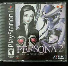 Persona 2: Eternal Punishment (Sony PlayStation 1) COMPLETE