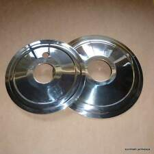 NEW Norton P11 750 Matchless 500 650 Front/Rear Wheel Hub Cover Plate SET