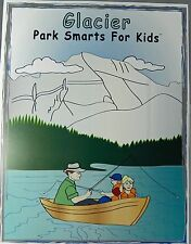 Glacier National Park Smarts for Kids Activity Book Puzzles Games Coloring