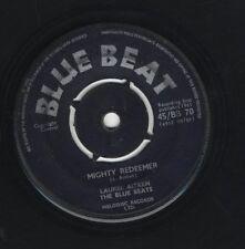 "LAUREL AITKEN -Please Don't Leave Me / Mighty Redeemer ORIG UK 7"" BLUE BEAT 1961"