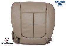 2009 2010 Ford F-150 FX2 FX4 -Passenger Bottom PERFORATED Leather Seat Cover Tan