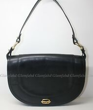 Authentic VINTAGE GUCCI™ GG LEATHER SHOULDER BAG with free bag twilly
