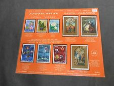 *Lot of Vintage Yugoslavia Stamps Stamp Collection
