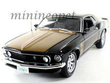 HIGHWAY61 50730 1969 FORD MUSTANG BOSS 302 SMOKEY TRIBUTE 1/18 BLACK / BRONZE