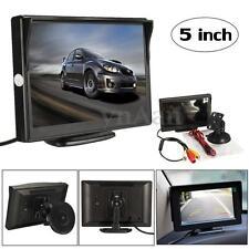 5'' TFT LCD Voiture Video Caméra de Recul Moniteur Ecran Vue Arriere NTSC/PAL