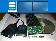 Nvidia Quadro NVS295 256MB Dual DP Small Form Factor Windows7 PCI-E Video Card