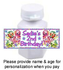 30 Shopkins Birthday Party Or Baby Shower Stickers Labels For Mini Bubble Bottle