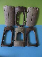 PLAYMOBIL * Grande Muro Set per circa Torre Torre * Cavalieri Castello 3666 * 3665 3888