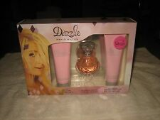 NEW PARIS HILTON DAZZLE 3 PC WOMEN'S PERFUME & BODY GIFT SET