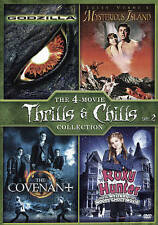 Godzilla / Mysterious Island / The Covenant / Roxy Hunter (DVD, 2013)***NEW!!***