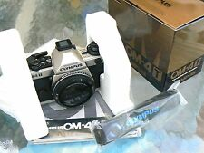 NEW OLYMPUS OM-4T CAMERA BODY *PRO 35MM SLR CAMERA *COLLECTIBLE* NEW IN BOX