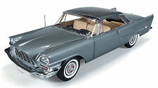 1:18 ertl Authentics Autoworld 1957 chrysler 300c Grey Popular Mechanics