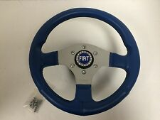 12.5 Inch Steering Wheel Fiat 128 X19 124 500 600 850 Spider Abarth -NEW- #358