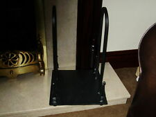 square wrought iron Log carrier, fire place accessories, wood burners,