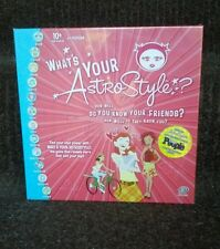 What's Your Astro Style? Teen People Board Game *Factory Sealed Brand New*