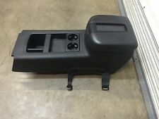 2007-2014 Chevy Silverado Gmc Sierra Lt2 Sle Black Ebony Center floor console